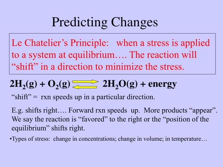 Predicting Changes