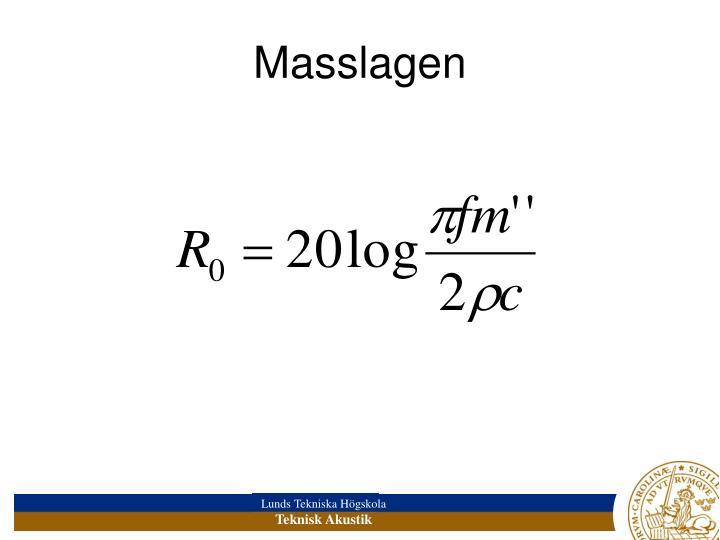 Masslagen