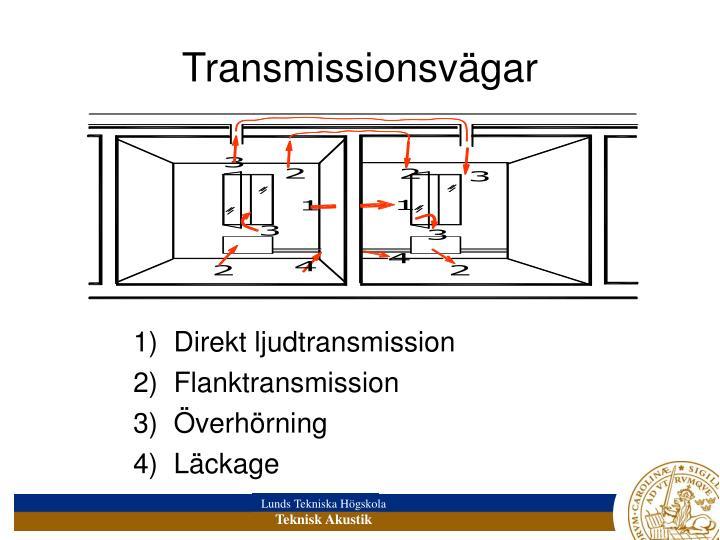 Transmissionsvägar