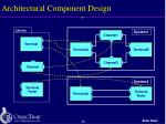 architectural component design
