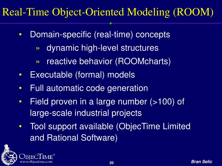 Real-Time Object-Oriented Modeling (ROOM)