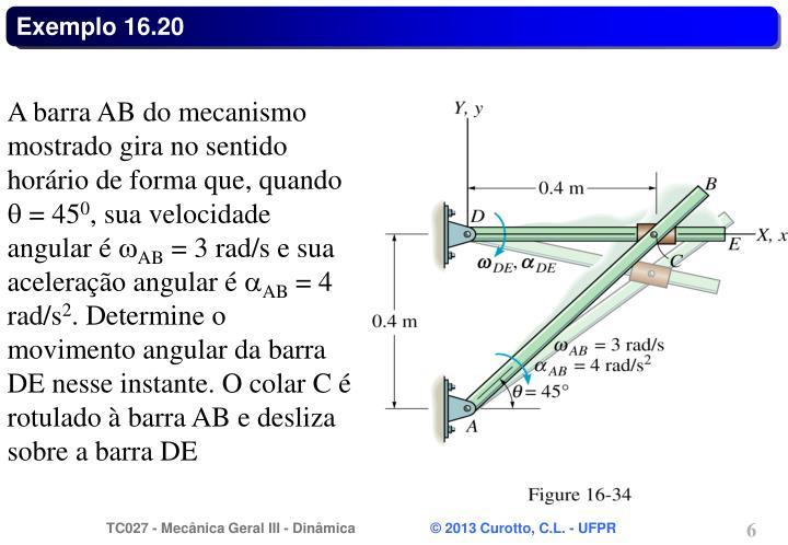 Exemplo 16.20
