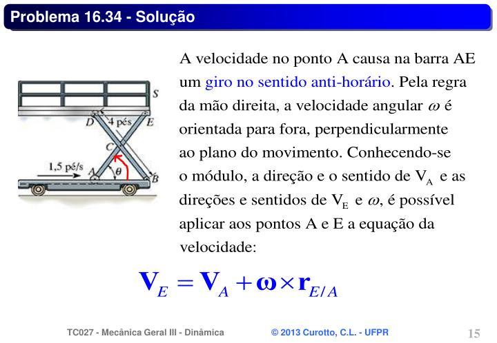 Problema 16.34 - Solução