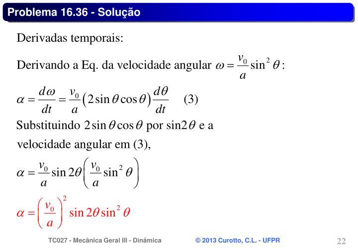 Problema 16.36 - Solução
