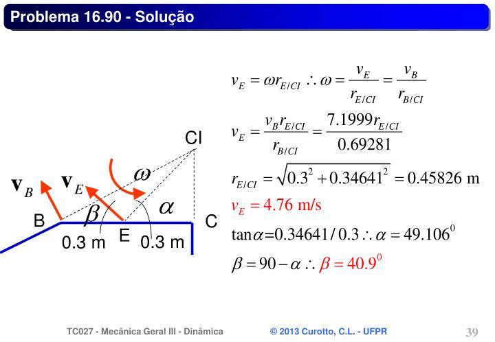 Problema 16.90 - Solução