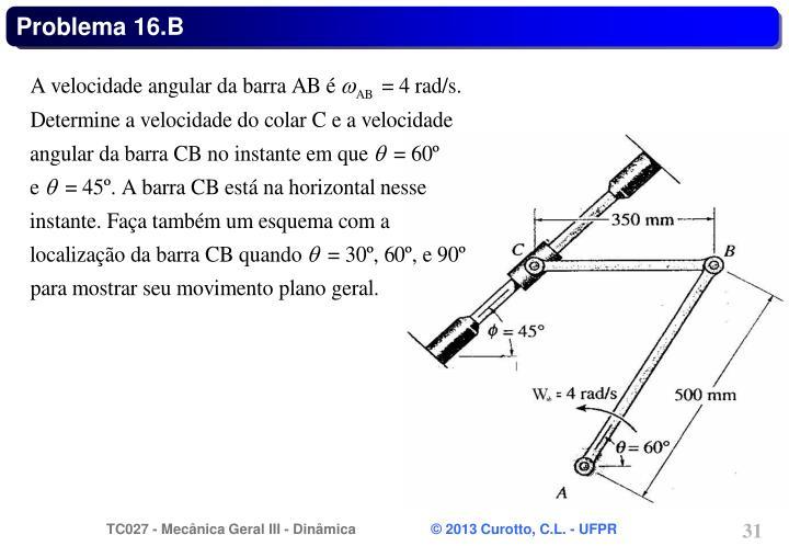 Problema 16.B