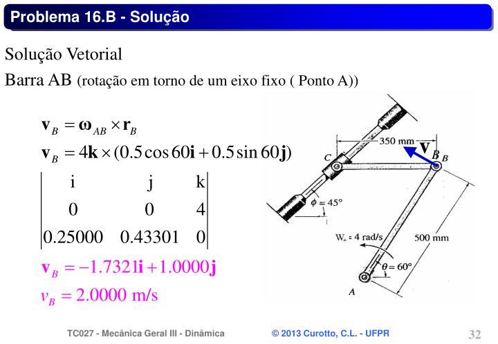 Problema 16.B - Solução