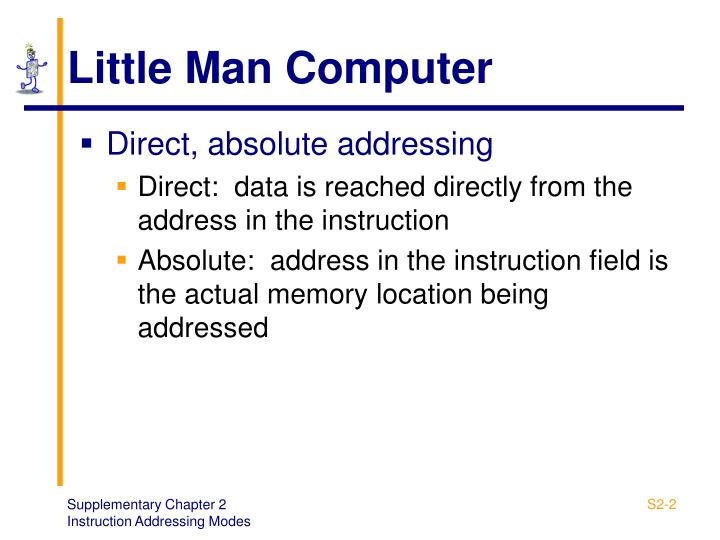 Little Man Computer