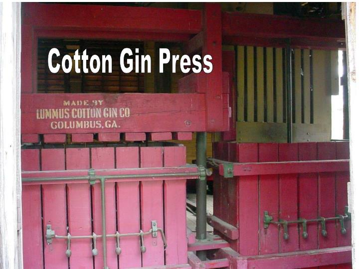 Cotton Gin Press