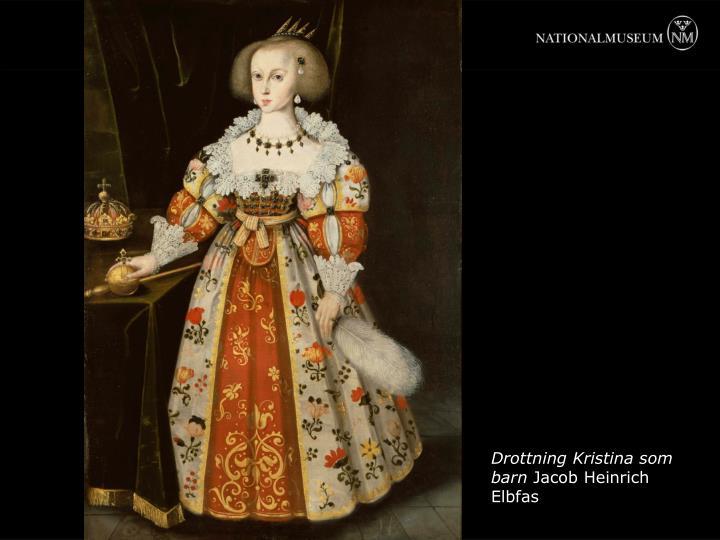 Drottning Kristina som barn