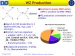 wz production