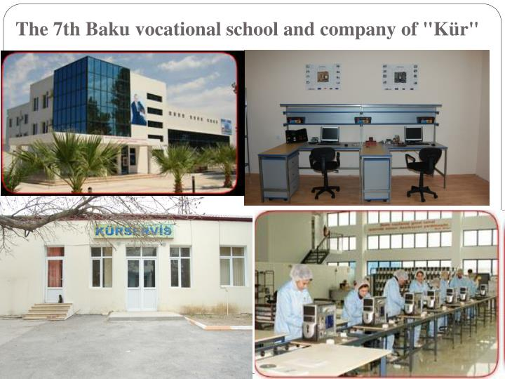 "The 7th Baku vocational school and company of ""Kür"""