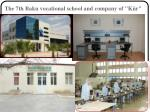 the 7th baku vocational school and company of k r