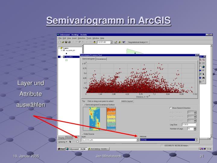 Semivariogramm in ArcGIS