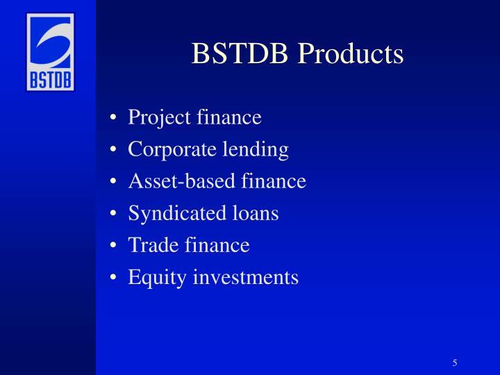 BSTDB Products