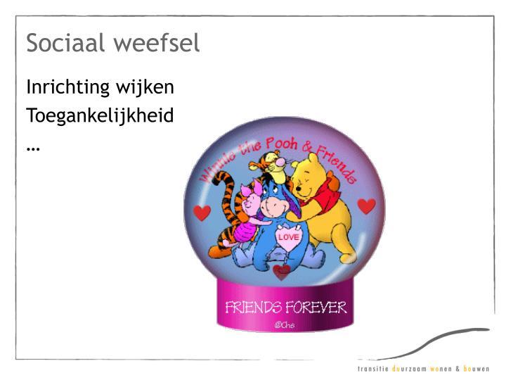 Sociaal weefsel
