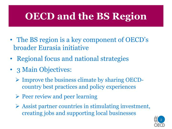 OECD and the BS Region