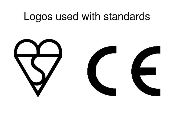 Logos used with standards