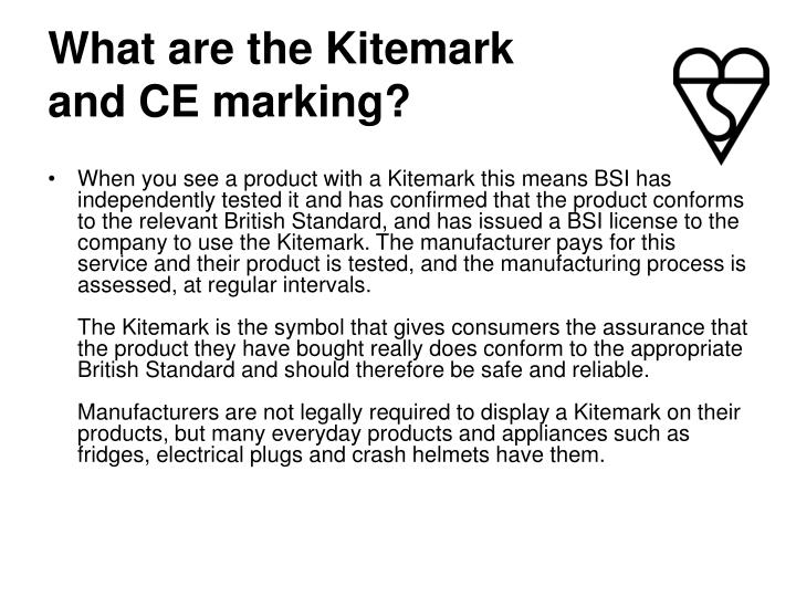 What are the Kitemark