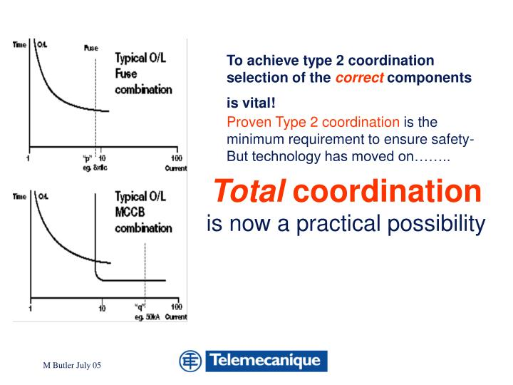 To achieve type 2 coordination selection of the