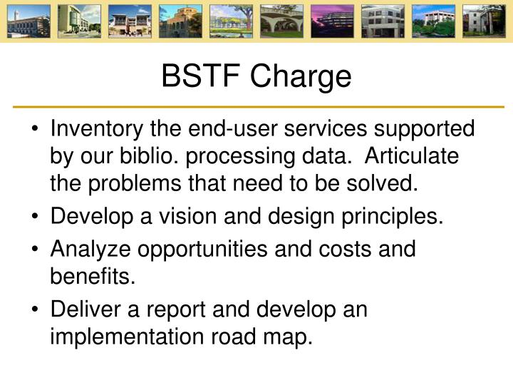 BSTF Charge
