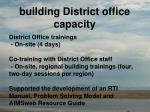 building district office capacity1