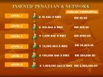 insentif penajaan network