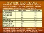master plan plan a