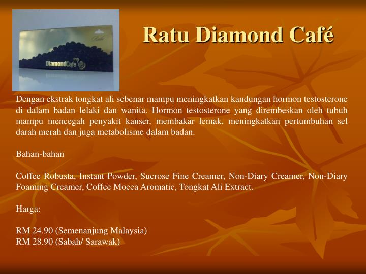 Ratu Diamond Café