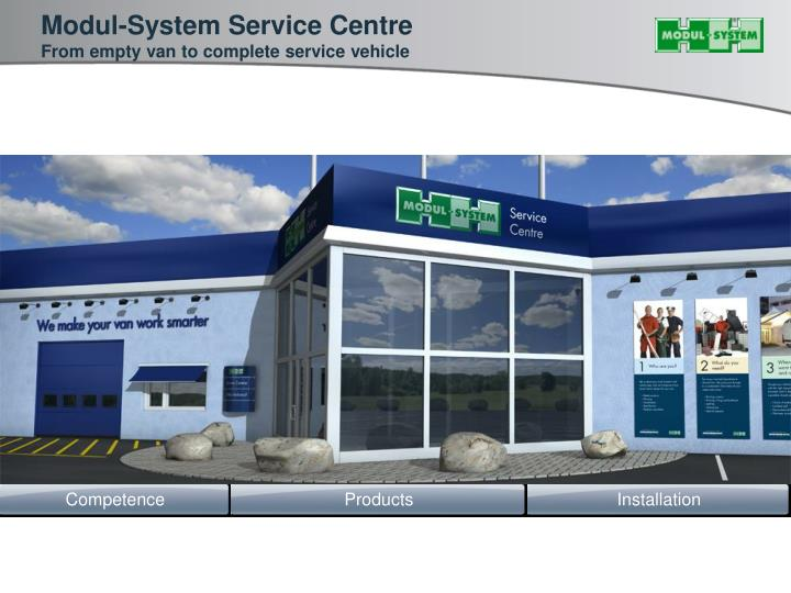 Modul-System Service Centre