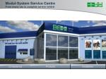 modul system service centre from empty van to complete service vehicle