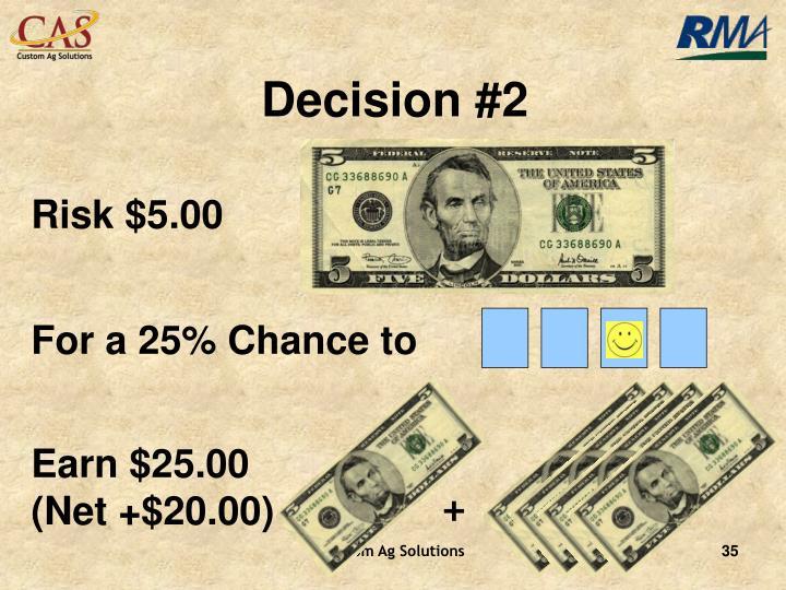 Decision #2