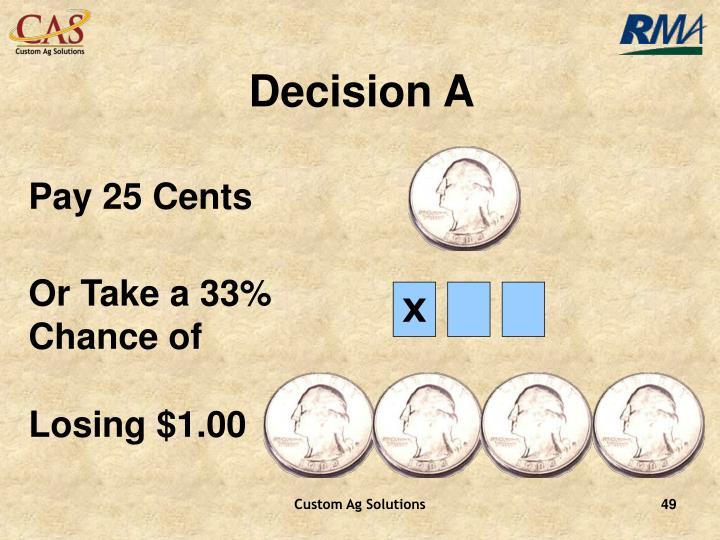 Decision A