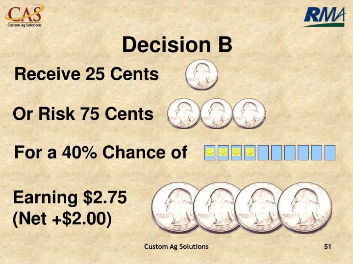Decision B
