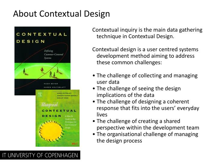 About Contextual Design