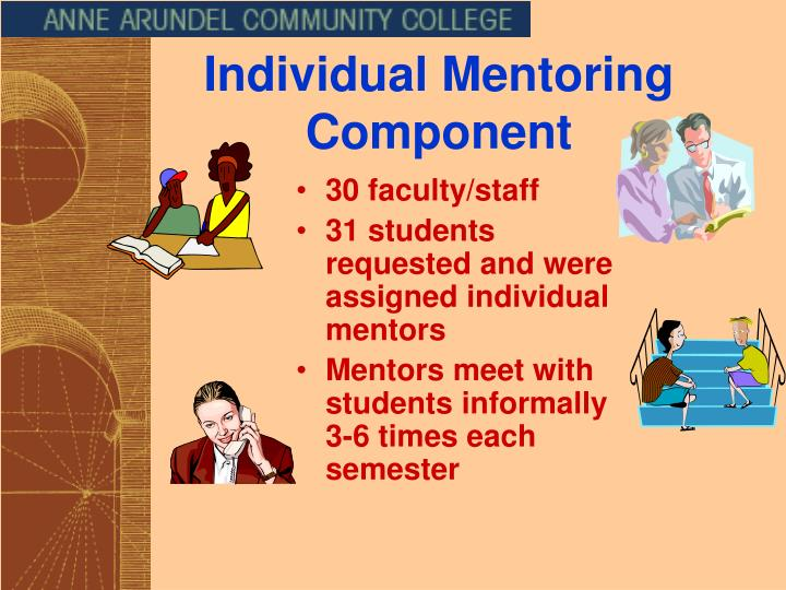 Individual Mentoring Component