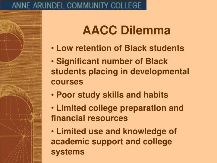 AACC Dilemma