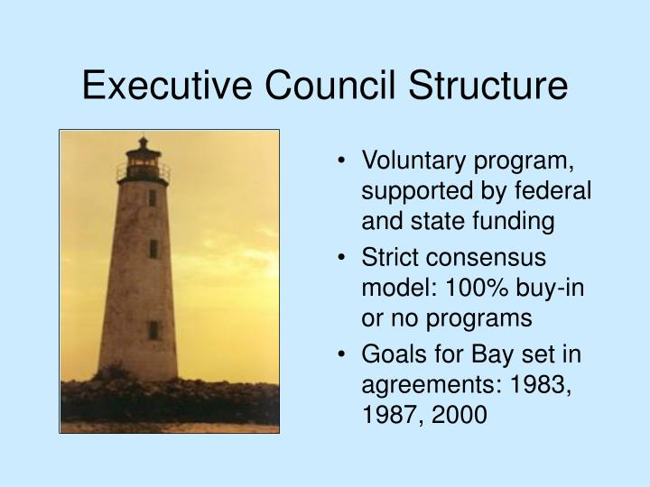 Executive Council Structure