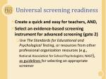 universal screening readiness2