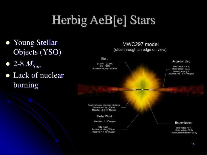 Herbig AeB[e] Stars