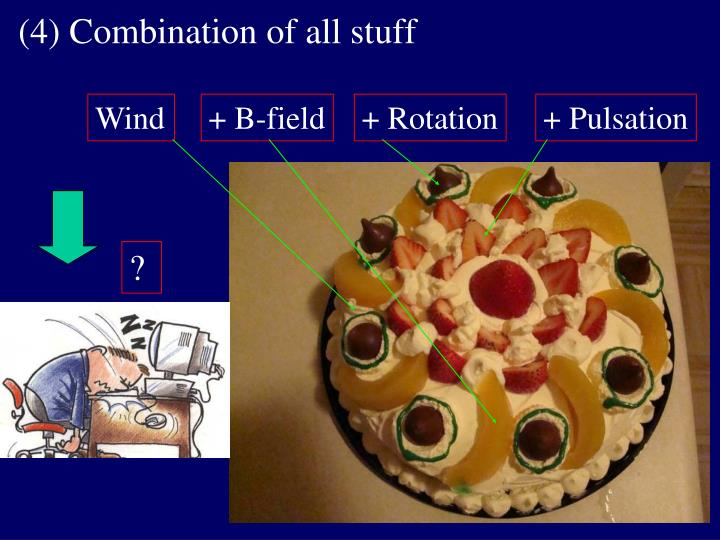 (4) Combination of all stuff