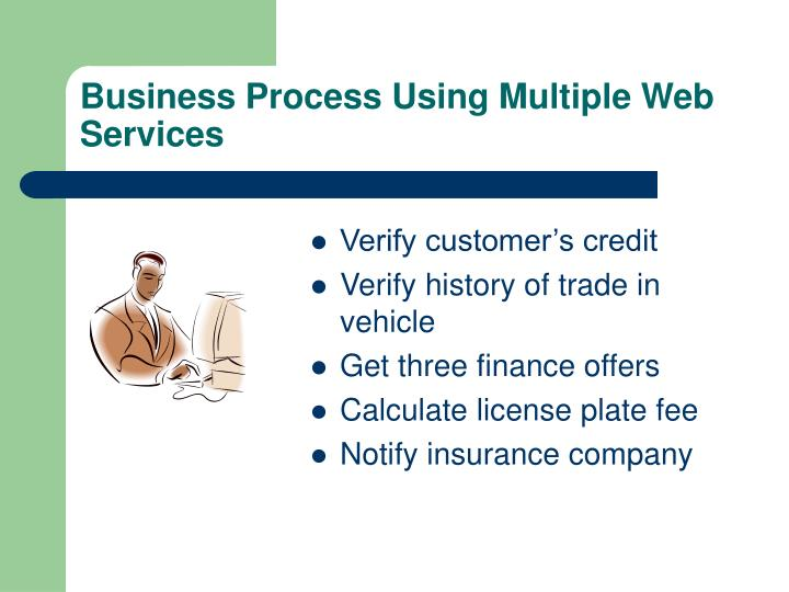 Business Process Using Multiple Web Services