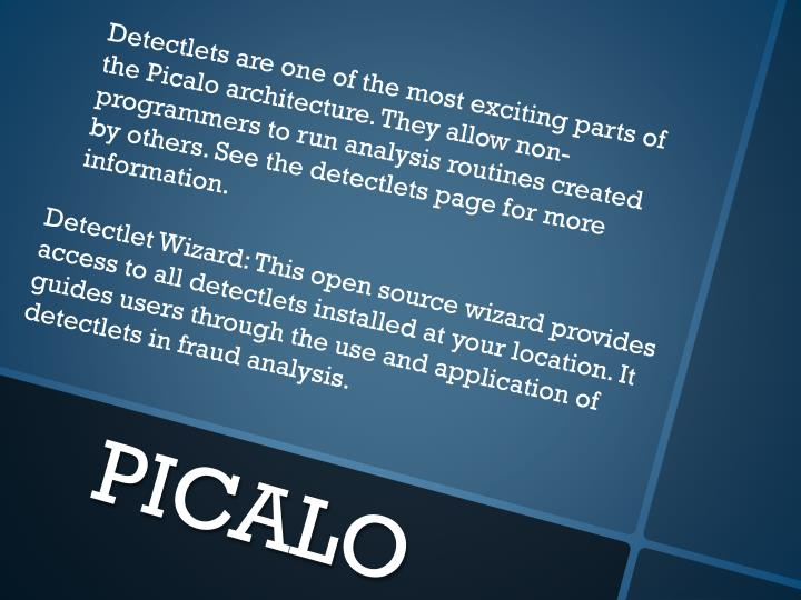 Detectlets
