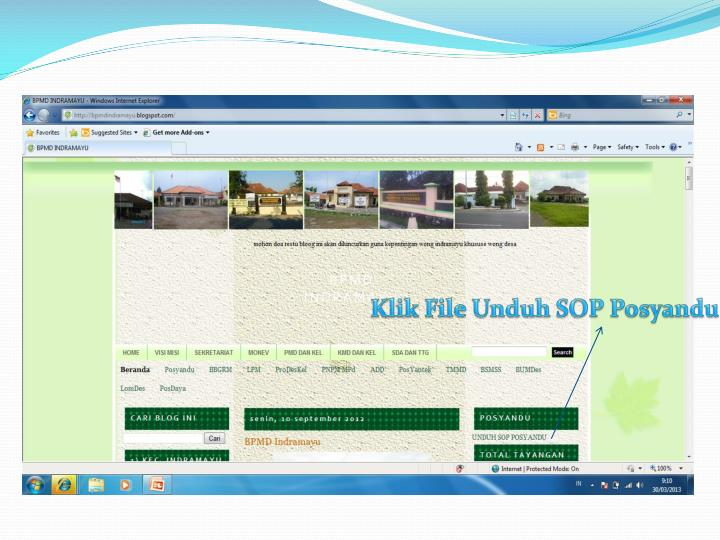 Klik File Unduh SOP Posyandu