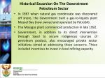 historical excursion on the downstream petroleum sector2