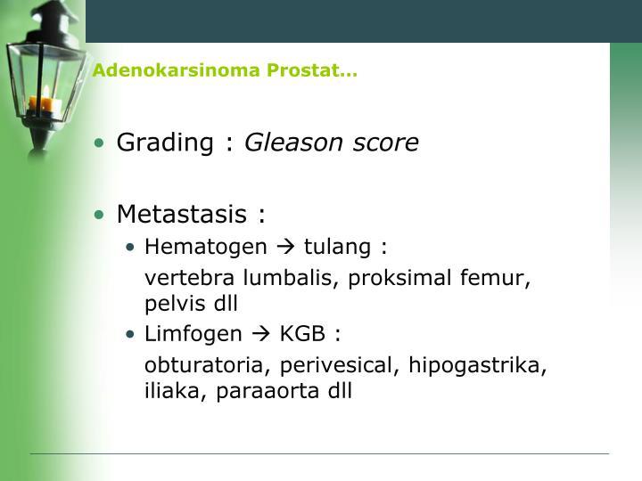Adenokarsinoma Prostat…