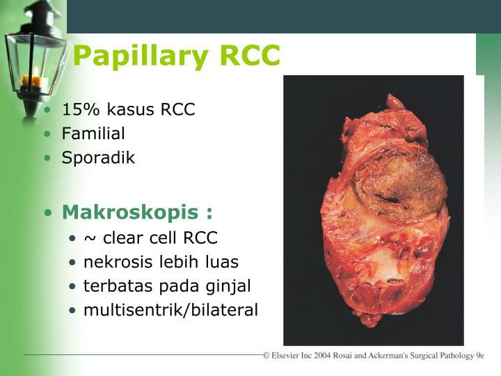 Papillary RCC