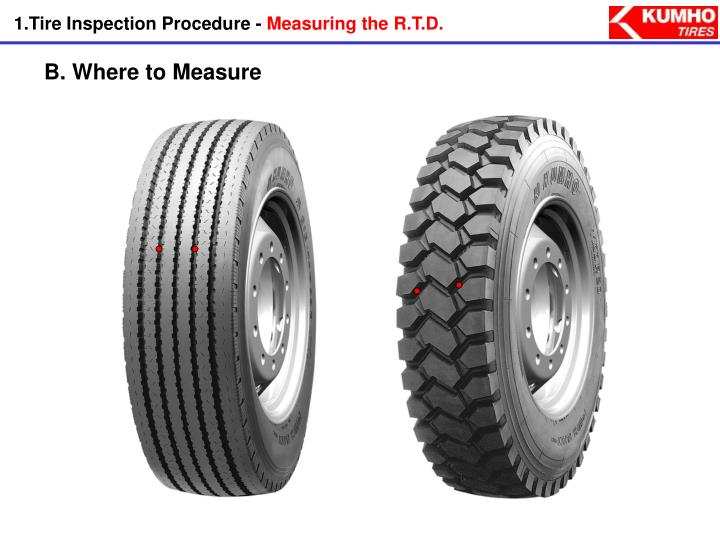 1.Tire Inspection Procedure -