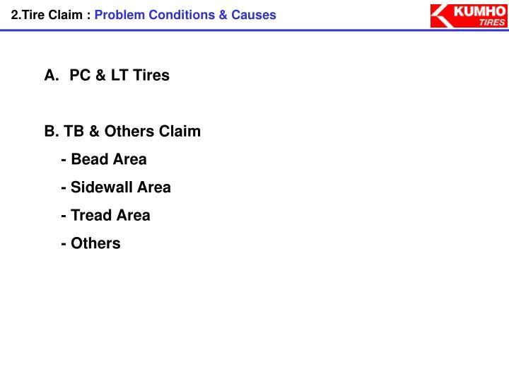 2.Tire Claim :