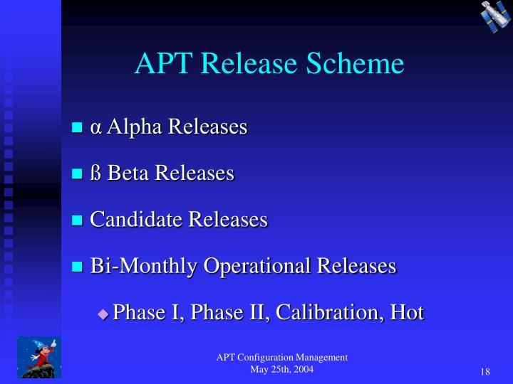 APT Release Scheme